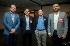 Marcus Soares, Flávio Wagner, Igor Queiroz Barroso e Alexandre Medina