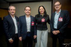 Sérgio Resende, Germano Belchior, Milene Pereira e Urbano Costa Lima