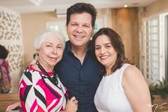 Alódia Guimarães, Gustavo Serpa e Lia Freire