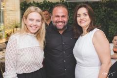Branca Mourão, Rai Meirelles e Lia Freire