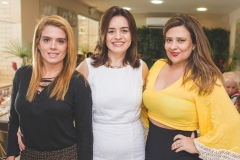 Letícia Studart, Lia Freire e Montiele Arruda