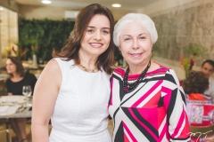 Lia Freire e Alódia Guimarães