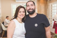 Lia Freire e Luiz Victor Torres