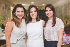 Márcia Travessoni, Lia Freire e Lorena Pouchain