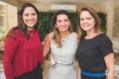 Silvana Costa Lima, Márcia Travessoni e Cristine Costa Lima