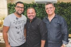 Thiago Menezes, Rai Meirelles e Flávio Liffeman