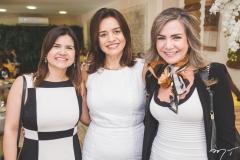 Ticiana Brígido, Lia Freire e Luiza Barreira