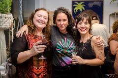 Branca Costa, Dora Coelho e Júlia Azul