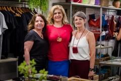 Evelyn Matthews, Telma Aguiar e Ione Pioner (3)