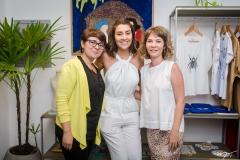 Monique Oliveira, Vitoria Falcão e Jô de Paula