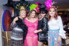Fátima Duarte, Montiele Arruda, Karina Bezerra e Claudia Alexandre