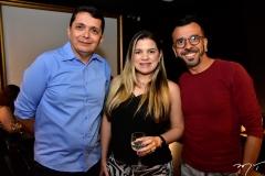 Armando Cesar, Kamila Monteiro e Jocelio Gaudino