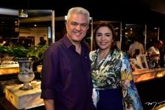 Carlos Araujo e Michele Cavalcante