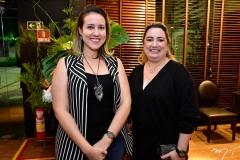Isaqueline Ribeiro e Mirela Bessa
