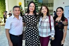 Antonio Marques, Waltenusia e Joana Maia e Marlene Oliveira