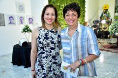 Cynthia Fontenelle  e Sandra Siqueira