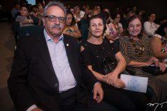 Emílio Moraes, Olívia Moraes e Ana Maria Studart