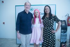 Jonab Fernandes, Tiele Martins e Valdenuzia Maia