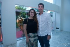 Nágila Alencar e Ismael Farias