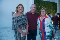 Simone, Paulo César e Lucila Norões