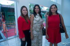 Tailla Castro, Adriana Santos e Jack Assunção