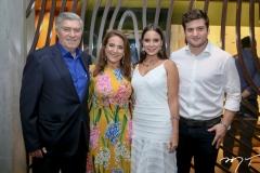 Amarilio e Patricia Macedo, Fernanda Levy e Omar Macedo