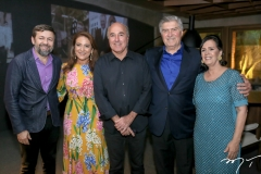 Elcio Batista, Patricia Macedo, Silvio Frota, Amarilio Macedo e Neuma Figueiredo
