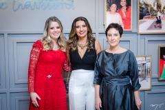 Fabiane Tavares, Márcia Travessoni e Lívia Pedreira