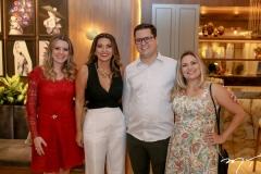 Fabiane Tavares, Márcia Travessoni, Bruno Mota e Rafaella Marques