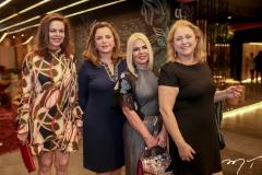 Glaucia Andrade, Sandra Lazera, Sandra Oliveira e Marize Castelo Branco