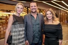 Paula Behr, Adrisio Camara e Fernanda Matoso
