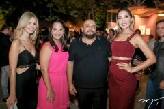 Raiana e Rachel Araujo, Erico Monteiro e Elilia Rocha