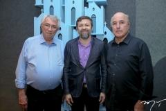 Roberto Macedo, Elcio Batista e Silvio Frota