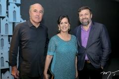 Silvio Frota, Neuma Figueiredo e Elcio Batista