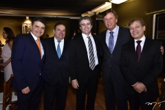 Aecio Dias, Francisco Rocha, Ronaldo Barbosa, José Simões e Otáciolio Vanlente