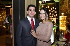 GIlberto Almeida e Melissa Fiuza