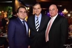 Gentil Linhares, Alexandre Sales e Luciano Cavalcante