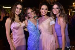 Lara Linhares, Mariana Brasil, Isabel Miranda e Nicole Marinho