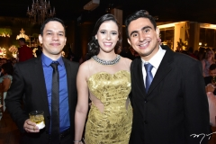 Leonardo Pimenta, Jessica Almada e Bruno Neves
