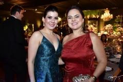 Lia Linhares e Denise Cavalcante