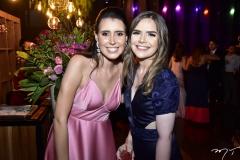 Maria Tereza Câmara e Brenda Gomes