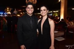 Mauricio Moreira e Júlia Wanderley