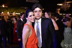 Moena Aragão e Igor Linhares