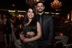 Nicole Arruda e David Teixeira