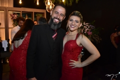 Rafael e Alana Teixeira