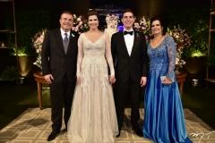 Ricardo e Ana Maria Bezerra, Paulo Victor e Luciana Bezerra