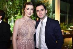 Vivian Porto e Miguel Fernandes