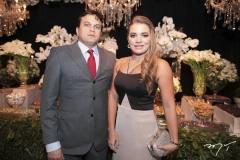Adriano Barbosa e Kamila Monteiro