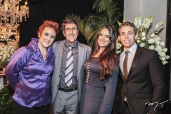 Ana Paula Rezende, Márcio Sobral, Marcela Sobral e Peter Coleman