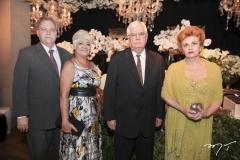 Antônio Carlos, Ângela Juaçaba, Heitor Ribeiro e Ana Virgínia